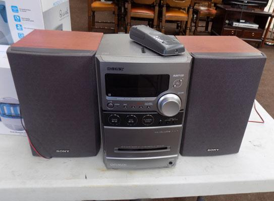 Sony MP3 Hifi with remote w/o