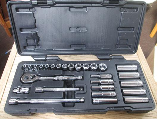 Halfords socket set