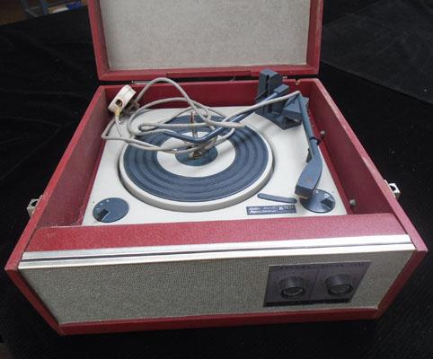 Alba vintage record player