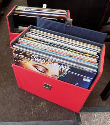 2 cases of LP records