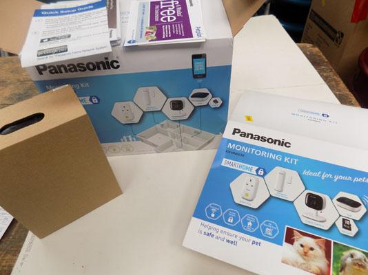 Panasonic pet monitoring kit home camera (new rrp £195)