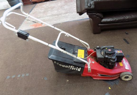 Mountfield rear roller mower w/o