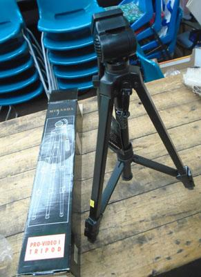 Miranda Pro video tripod (boxed unused)