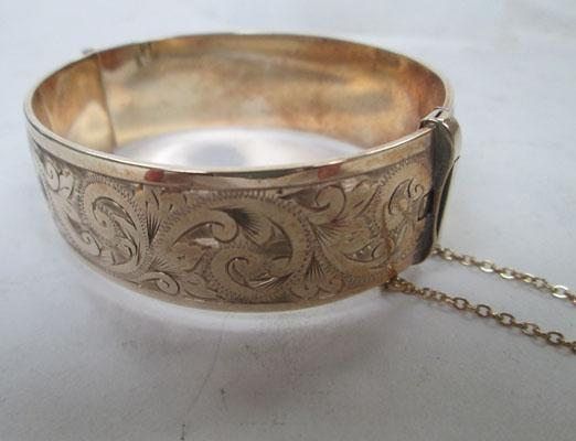 9ct Rolled gold bangle