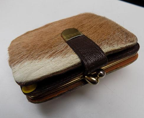 Genuine calf skin wallet/purse