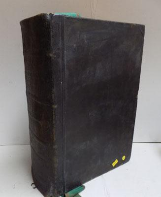 1808 large Complete Family Bible printed in Leeds, translated by Rev Joseph Sutcliffe