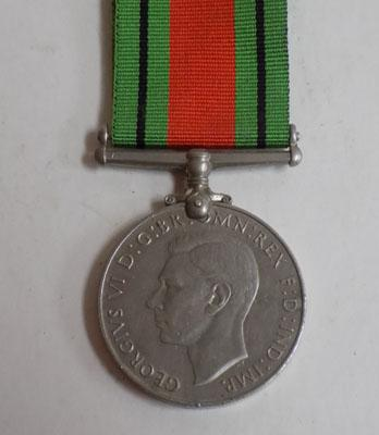 WWII British Army defence medal