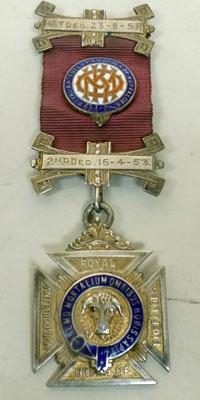 9CT Gold Plated Silver RAOB ST Joan Lodge Medal