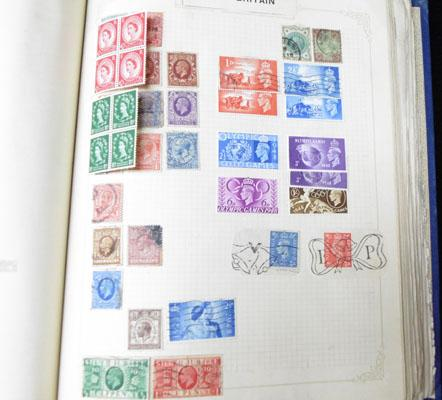 Album of early Commonwealth Stamps