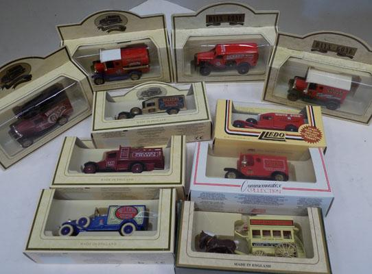 10x boxed die cast cars