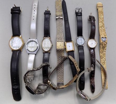 Selection of watches, including Timex