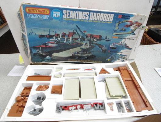 Mathchbox Sea Kings Harbour playset