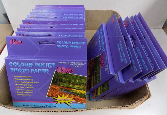 20 packs of inkjet photo paper