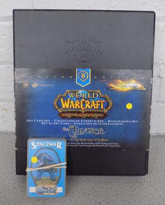 Citadel Spacewar cards & Warcraft large cards-complete