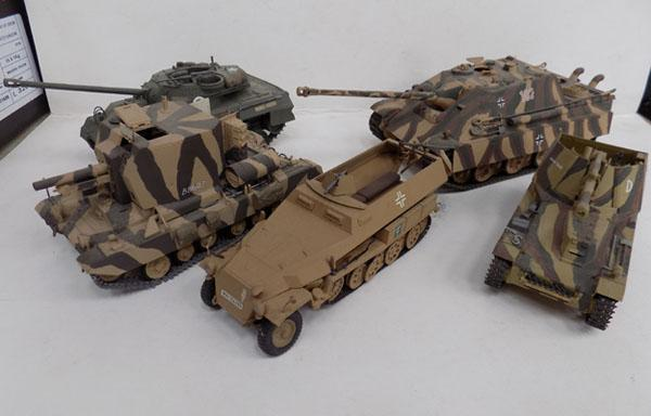 Selection of Self propelled Artillery tanks