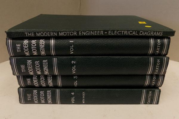 5x motor engineering books