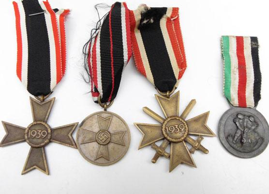 Collection of German WW2 medals