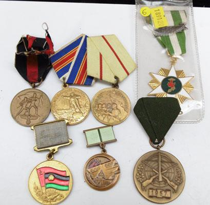 Collection of Russian medals, Cold war era