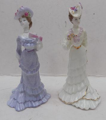 "Coalport "" Lady May"" & ""Lady Clara"", size 6"""