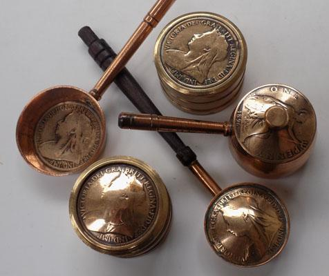 Selection of Penny-made items incl. Trinket boxes