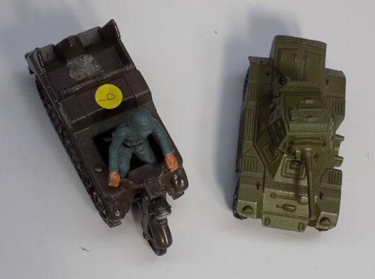 Dinky Scout car & Britains vehicle