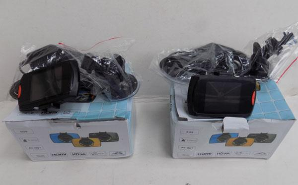 2x Brand new car dash cams