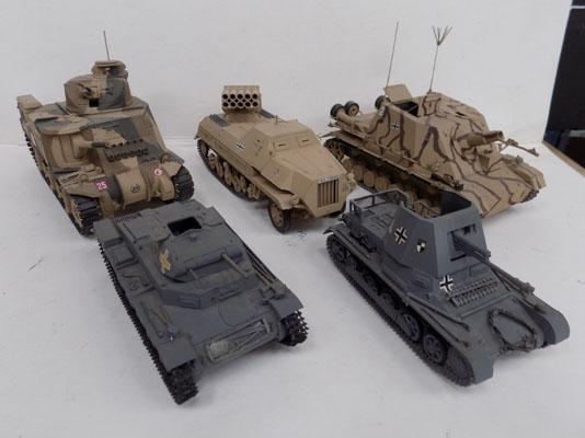 Tanks & self propelled weapons