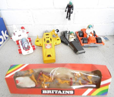 Fisher Price/Britains space figures & vehicles