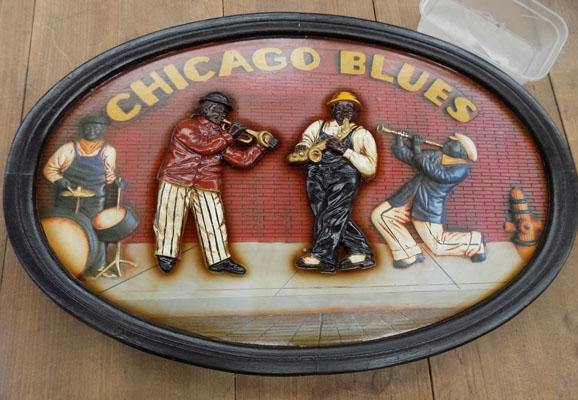 Chicago blues sign