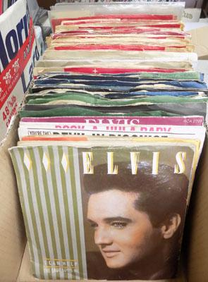 Elvis singles records