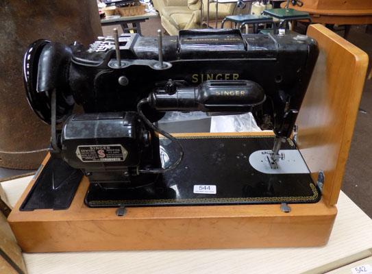 Singer Sewing Machine Boxed