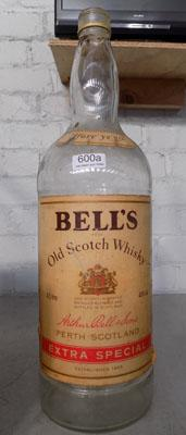 Large Bells Whisky bottle