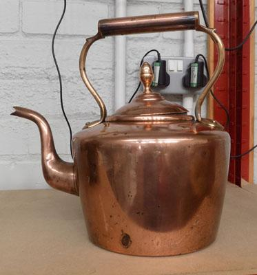 Large Copper Kettle