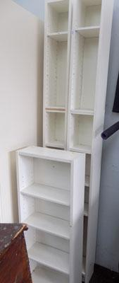 Set of three shelves