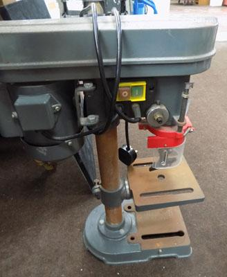 Pillar drill/chuck key in working order