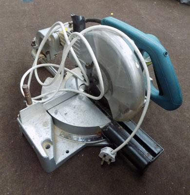 Mitre saw in working order