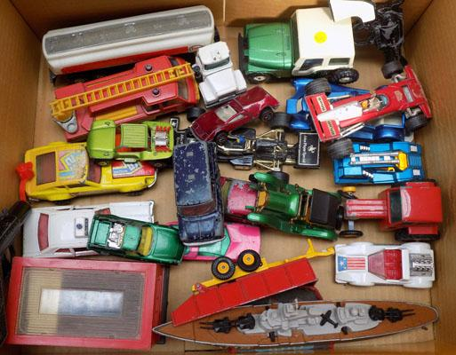 Mixed diecast cars incl: Corgi and Lesney