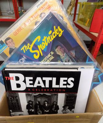 Box of Rock & Pop Records