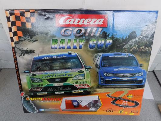 Carrerea Go! Ralley slot racing set Ford/Suburu