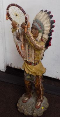 Red Indian Dream Catcher figure