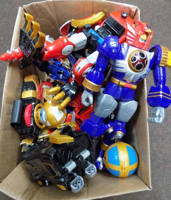 Large selection of Power Rangers