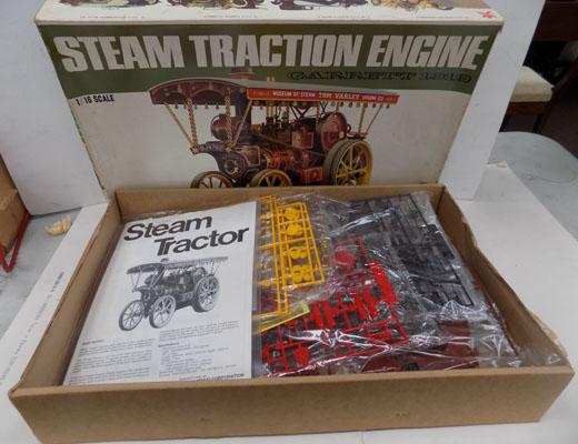 Bandai Steam Traction Engine Kit