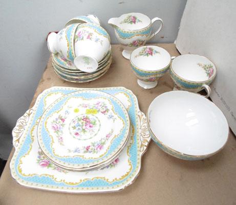 Windsor Bone China Tea Service