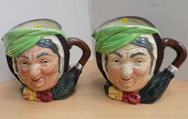 Pair of Royal Doulton Toby Jugs