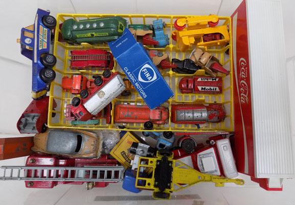 Box of Matchbox Die-Cast & others