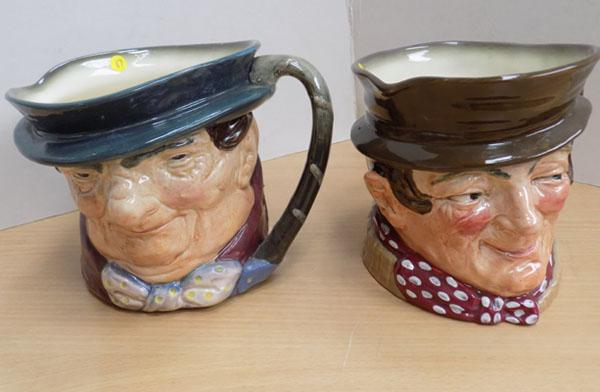 2 Royal Doulton Toby Jugs