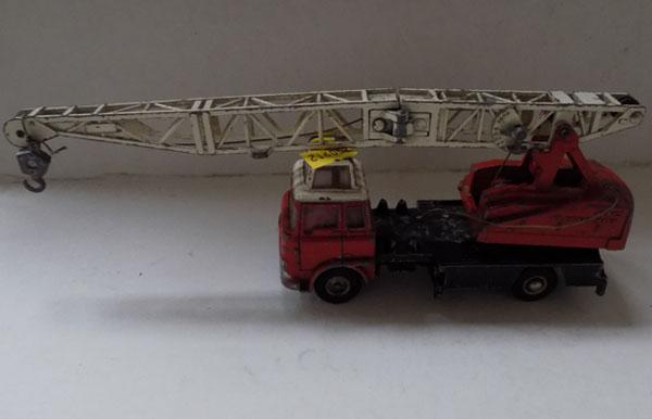 1960's Dinky no.970, Jones fleetmaster crane