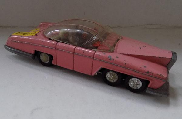1970's Dinky Lady Penelope Fab 1 & Thunderbirds car with figure