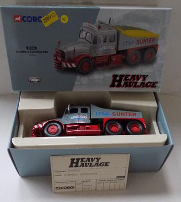 Boxed Corgi heavy haulage (Ltd Ed) no CC13202 - Scamall Contractor