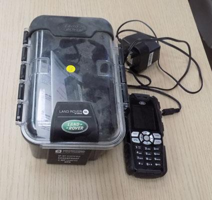 Land Rover mobile phone